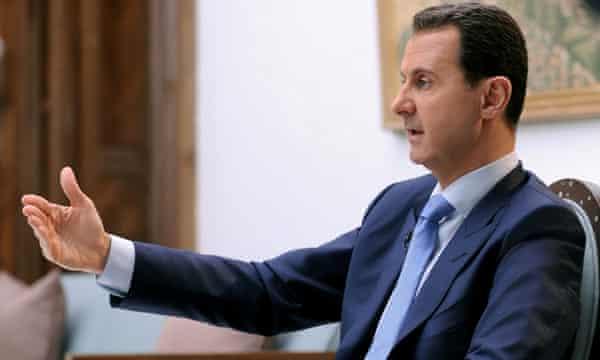 Syria's president, Bashar al-Assad.