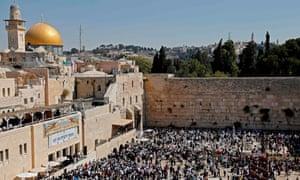 Australia's prime minister, Scott Morrison, is reported to be considering moving Australia's Israel embassy to Jerusalem.