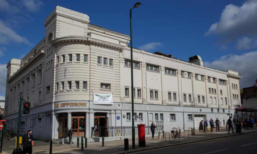 Golders Green Hippodrome in north London.