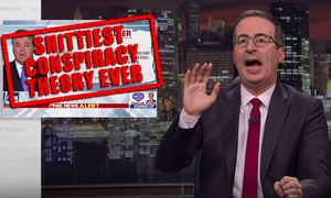 'Let me be clear on this: whether or not someone else did something shitty has no bearing over whether you did something shitty'...John Oliver