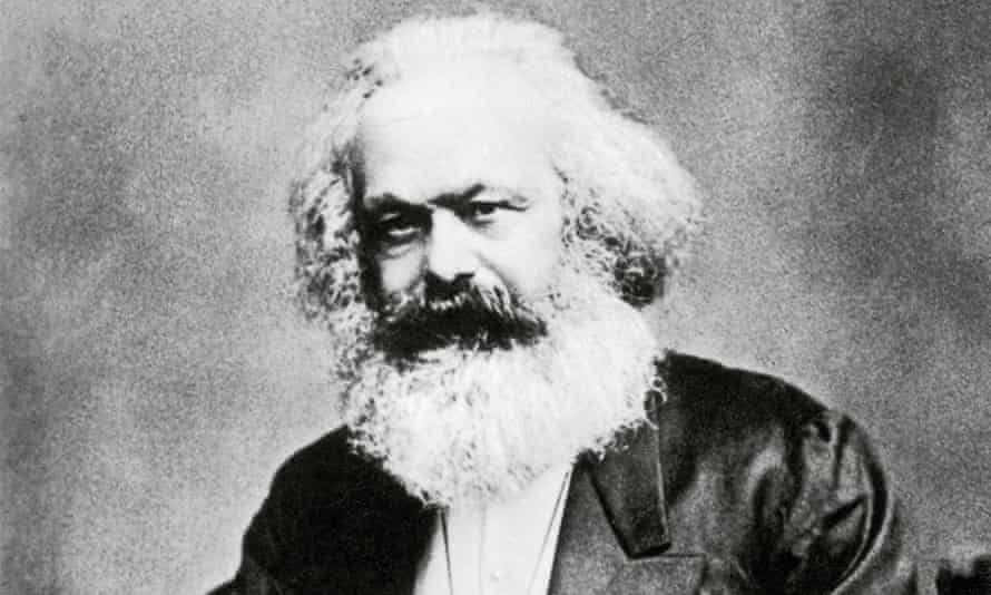 Karl Marx: once the mane man.