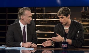 Bill Maher Milo Yiannopoulos on last Friday's Real Time with Bill Maher.