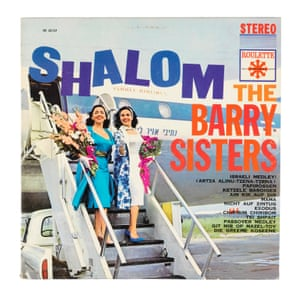 "Yiddish songs: The Barry Sisters, Shalom, 1962 ""Many of what are now considered Jewish folk songs were actually created for the stage. In 1876, Abraham Goldfaden, pioneer of Yiddish theatre, toured Romania with a group of wandering Yiddish singers and went as far as Odessa. Together with Mendele Lilienblum he introduced the Yiddish theatre to Russia. With the mass migration of Jews to the West, Yiddish theatres were formed in London and Paris, Vienna and Berlin, as well as in North and South America, in which Jewish migrants from Eastern Europe had created a cultural heimat for themselves."""