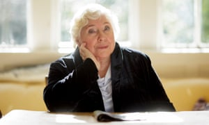 Fay Weldon at her home in Dorset.