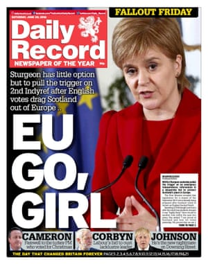 Daily Record - 25/06/2016