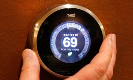 Nest's flagship smart thermostat.
