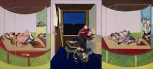 'An opera of gaping mouths and writhing figures': Triptych, 1967 by Francis Bacon.
