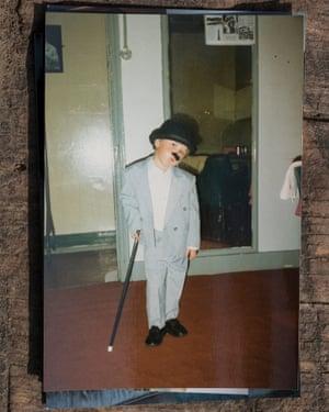 Tracini in 1995 at the Grand theatre in Blackpool