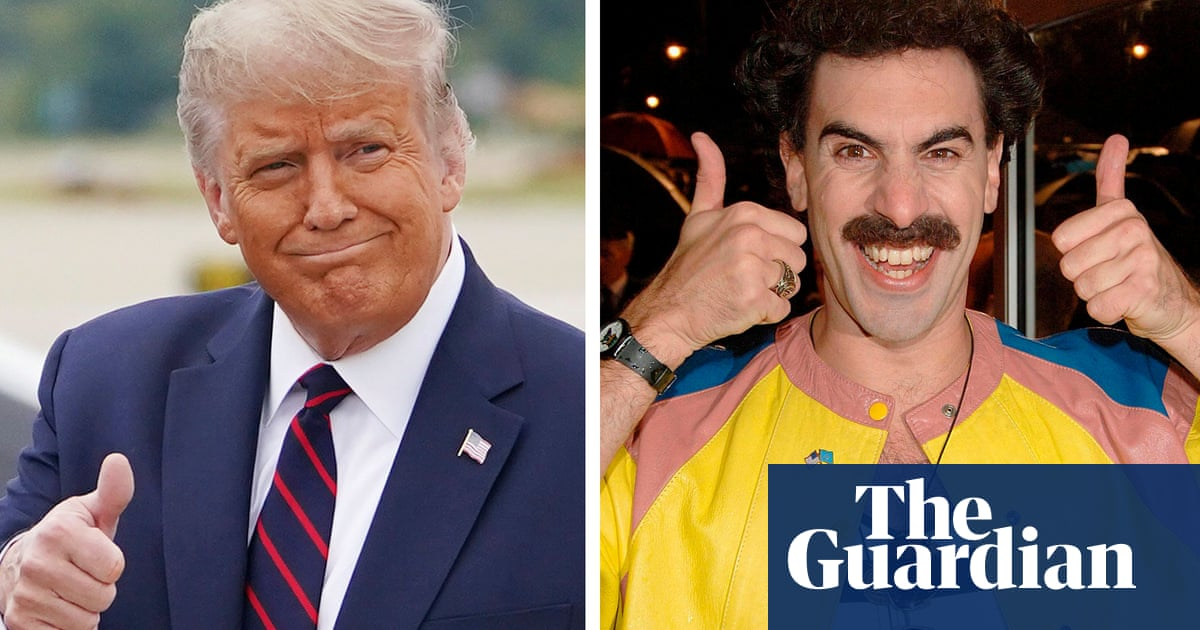 Borat praises Donald Trump on Twitter ahead of new film