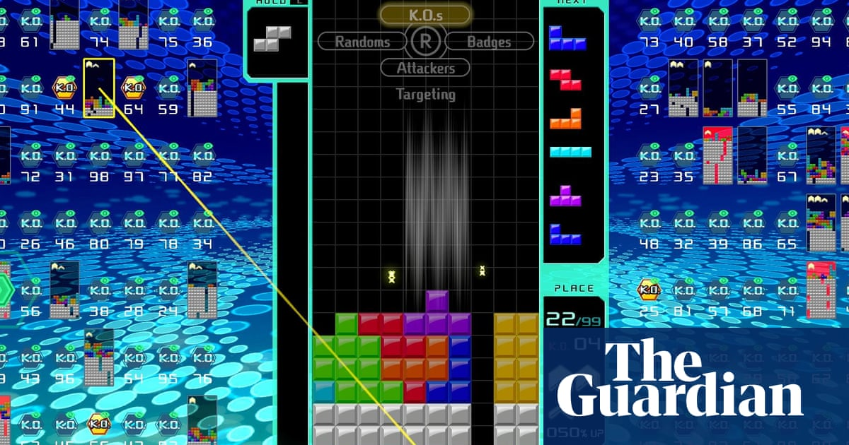 Block party: Nintendo's 99-player Tetris is savaging my self