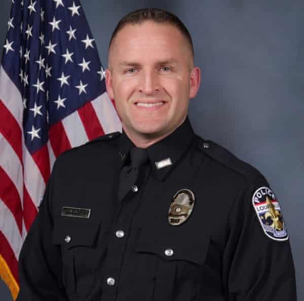 Brett Hankison, one of three police officers involved in the fatal shooting of Breonna Taylor, has been fired.