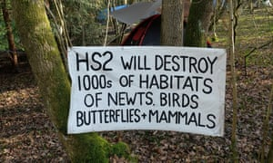 The Cubbington Action Group Against HS2 has set up a protest camp in the woods after its arguments for alternative routes were all dismissed.