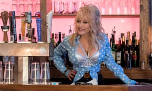 Of all the juke joints ... Dolly Parton as the bar owner in Dolly Parton's Heartstrings.