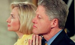 Bill Clinton Hillary Clinton Democrats US politics