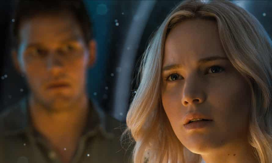 Chris Pratt and Jennifer Lawrence.
