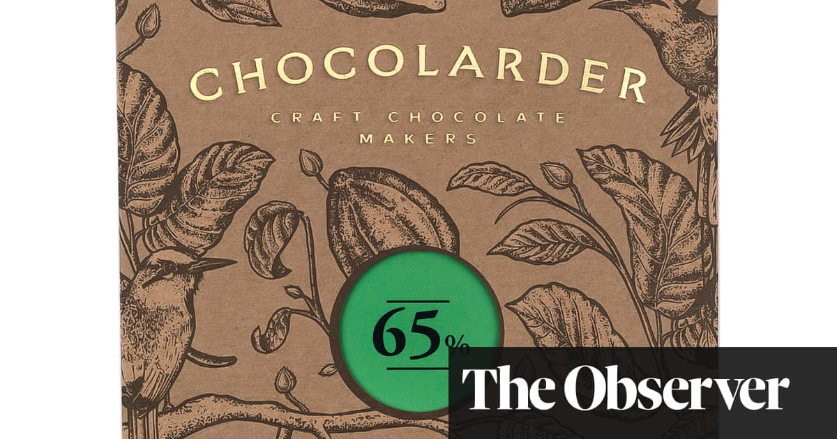 Notes on chocolate: a triangular treat makes things right