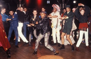 Clubbers Dancing @ Leigh Bowery's club Taboo, London, UK, 1986