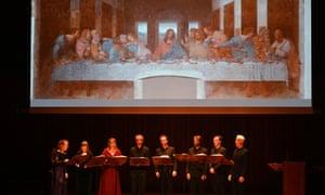 Leonardo da Vinci: Shaping the Invisible performance by I Fagiolini at Milton Court, London