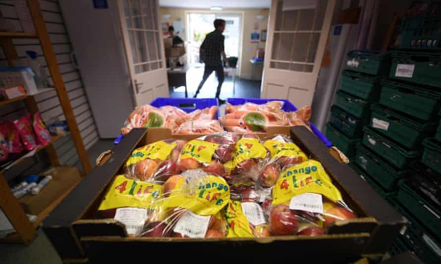 Emergency food for UK asylum seekers, April 2021