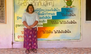 Wannakanok Pohitaedaoh who was forced into a violent marriage at 13-years-old and now runs a shelter for children in Narathiwat, southern Thailand.