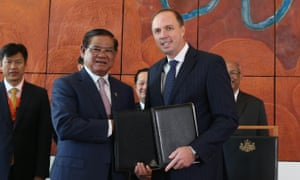 cambodia immigration deal signing