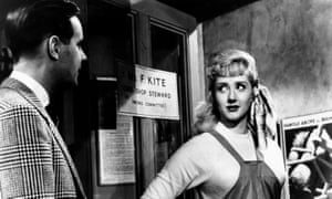 Liz Fraser as Cynthia Kite and Ian Carmichael in I'm All Right Jack, 1959.