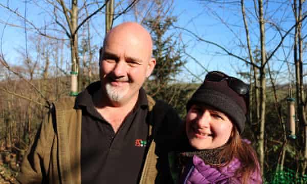 Woodland owners Steve and Tamara Davey.