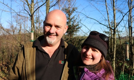 Woodland owners Steve and Tamara Davey.