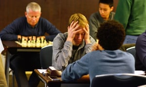chess players at the 4NCL tournament 2015