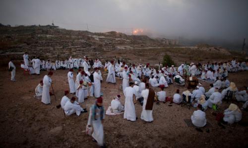 How Ukrainian women saved the Samaritans of Mount Gerizim | Palestinian  territories | The Guardian