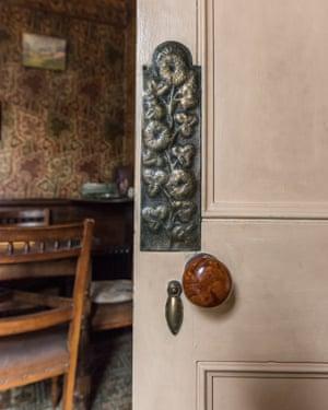 Door to the dining room