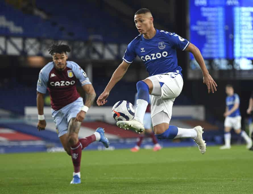 The goals have dried up for Richarlison and Everton.