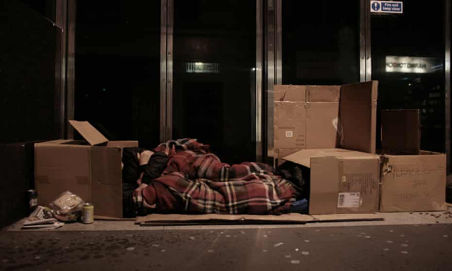 Rough sleeping in the West End