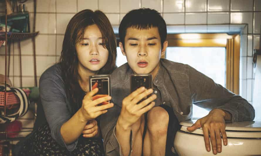 Parasite, directed by Bong Joon Ho.