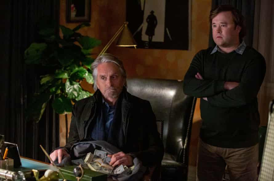 Osment with Michael Douglas in the TV show The Kominsky Method.
