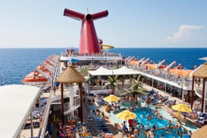 A Carnival Fascination cruise ship