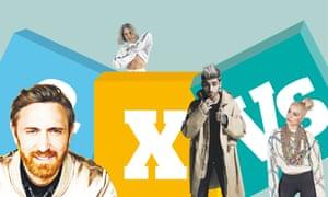 David Guetta; MØ; Zayn Malik; Bebe Rexha