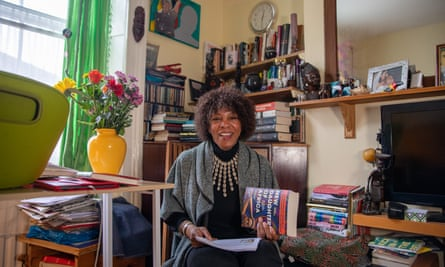 Margaret Busby, with New Daughters of Africa, a follow-up to her first anthology of writing by women of African descent.