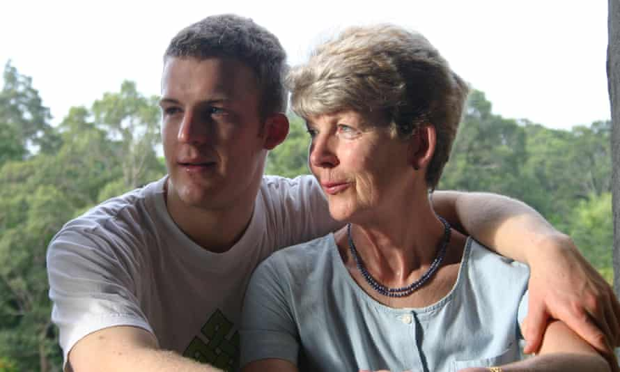 james ashwell and his mother