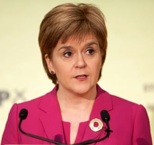 """Trade Union Bill<br>File photo dated 18/09/15 of Nicola Sturgeon who has accused the UK Government of using its plan to limit the activities of trade unions to impose its """"illiberal"""" worldview on Scotland and control its devolved government. PRESS ASSOCIATION Photo. Issue date: Sunday November 22, 2015. The First Minister said the Trade Union Bill has """"no other conceivable purpose"""" than to discourage trade union membership.See PA story SCOTLAND Unions. Photo credit should read: Lesley Martin/PA Wire"""