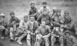 'The real Siberia' … hard-labour prisoners, around 1885.