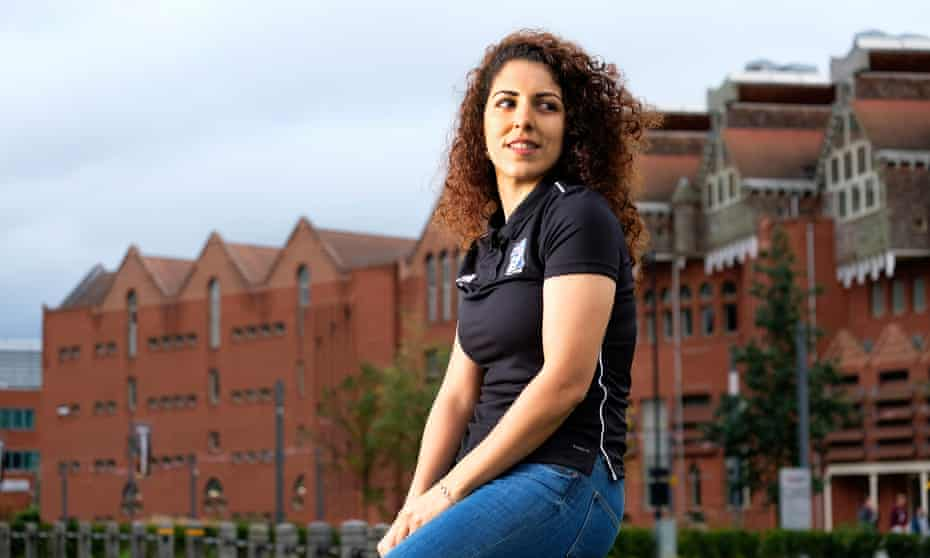 Sanaa Darawsha is studying a Fifa-run course at De Montfort University in Leicester which she hopes will provide her with the skills needed to empower women in her native Israel
