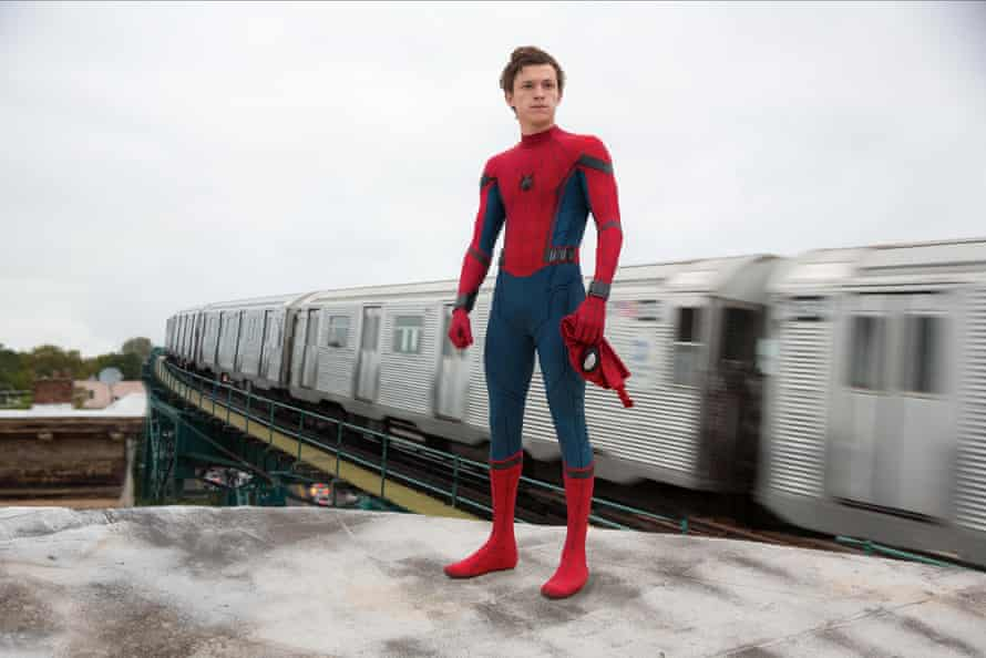 The future … Tom Holland will star as the new incarnation of Spider-Man.