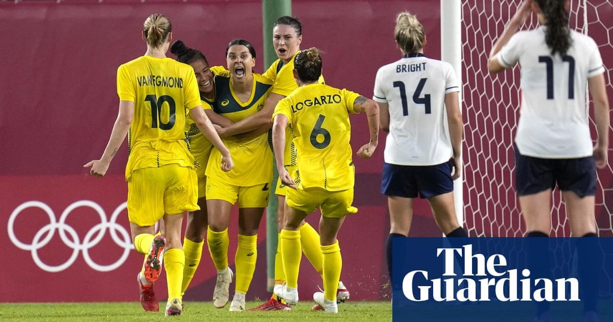 Australia beat GB to reach Olympic football semis despite White treble