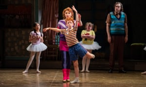 Billy Elliot the Musical Australia: Kelley Abbey and Jamie Rogers.