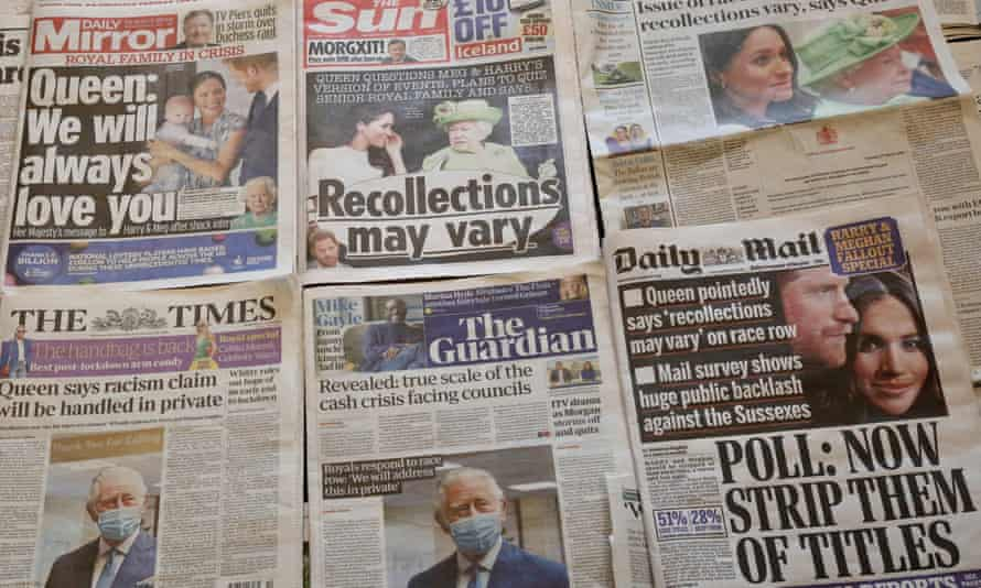 UK daily newspaper front pages on 10 March