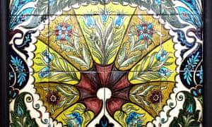 More Arabian Nights than Das Kapital … Blue Flowers and Palmettes, 1888-1897.