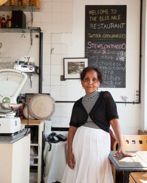 'I never, ever cook from recipe books, I just cook': Shewa Hagos.