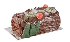 Fortnum and Mason Double Chocolate Yule Log