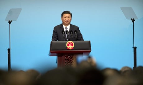 Xi Jinping says a dark shadow looms over the world after years of peace